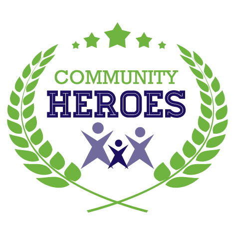 Be A Community Hero   For a recurring gift of $10 or more per month, you can be a Community Hero.  Click here  to learn more about becoming a Community Hero.