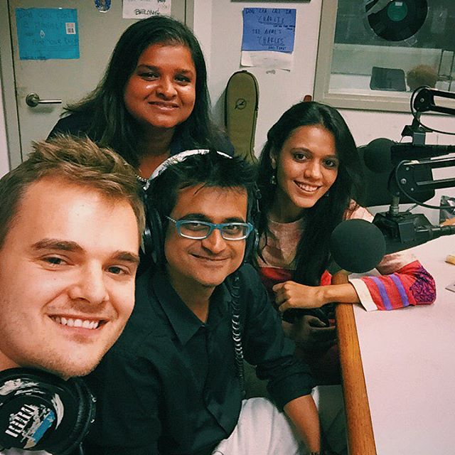 On WKCR 89.9 FM New York with @maatibaani and @niralikartik!