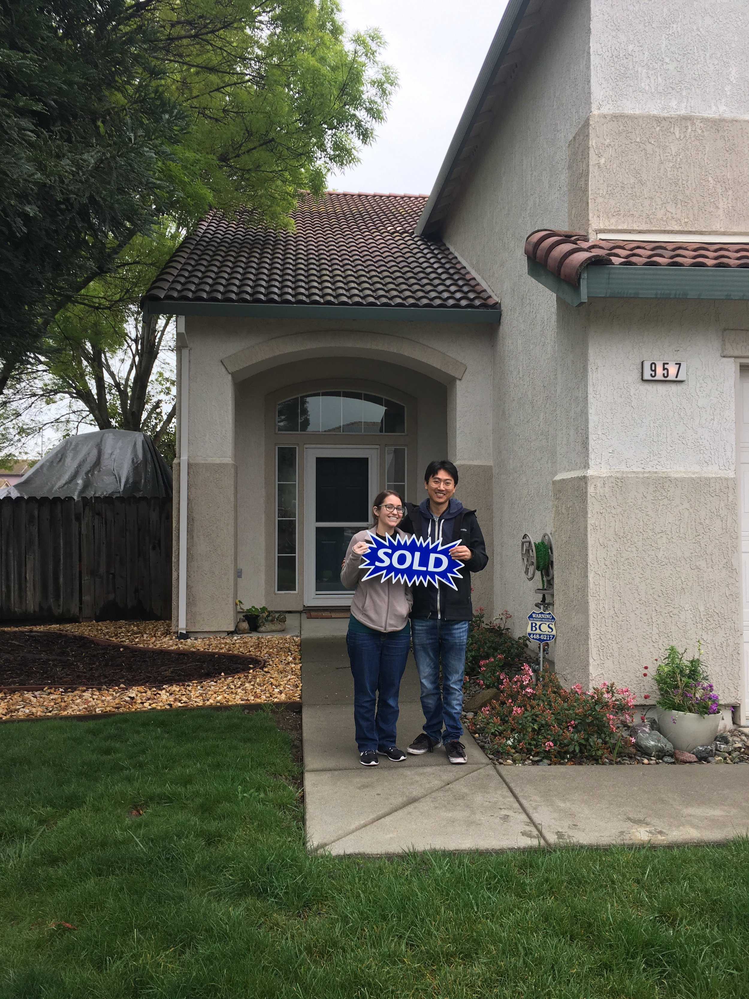 Happy Buyers! -Sold- 957 Topaz Cir - We worked together to beat-out multiple competing offers.