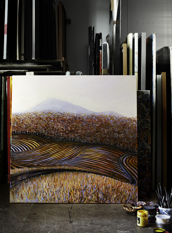 Allan Wolf-Tasker's studio