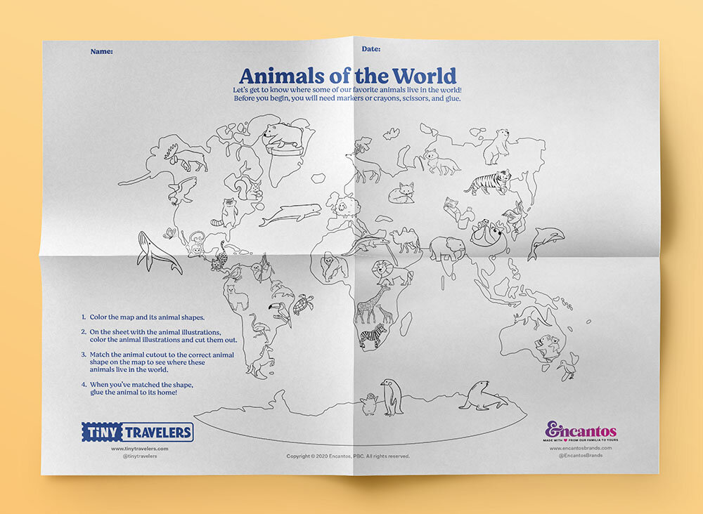 Learn About The World With Tiny Travelers Encantos