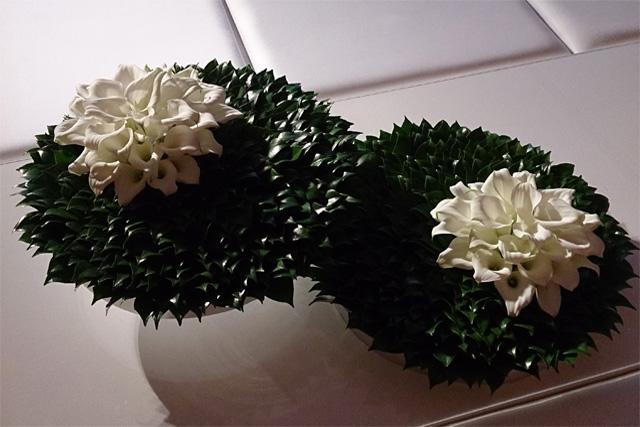 Audi みなとみらい開業記念パーティー 生花デザイン