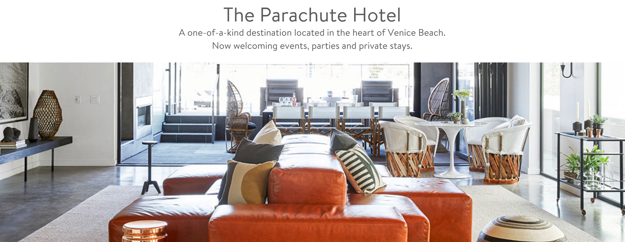 The Parachute Hotel