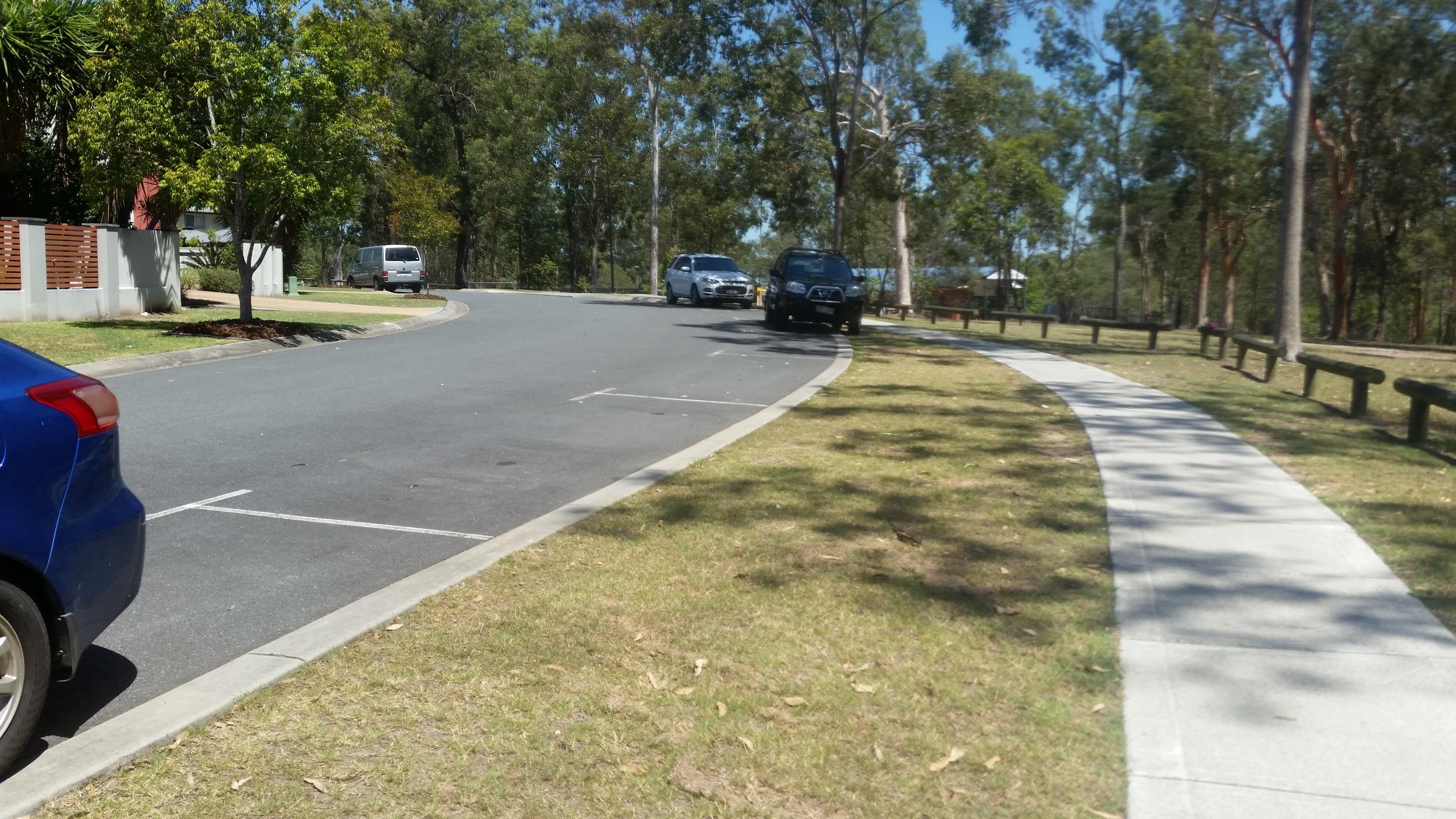 Greenway Circuit Flush Kerbing