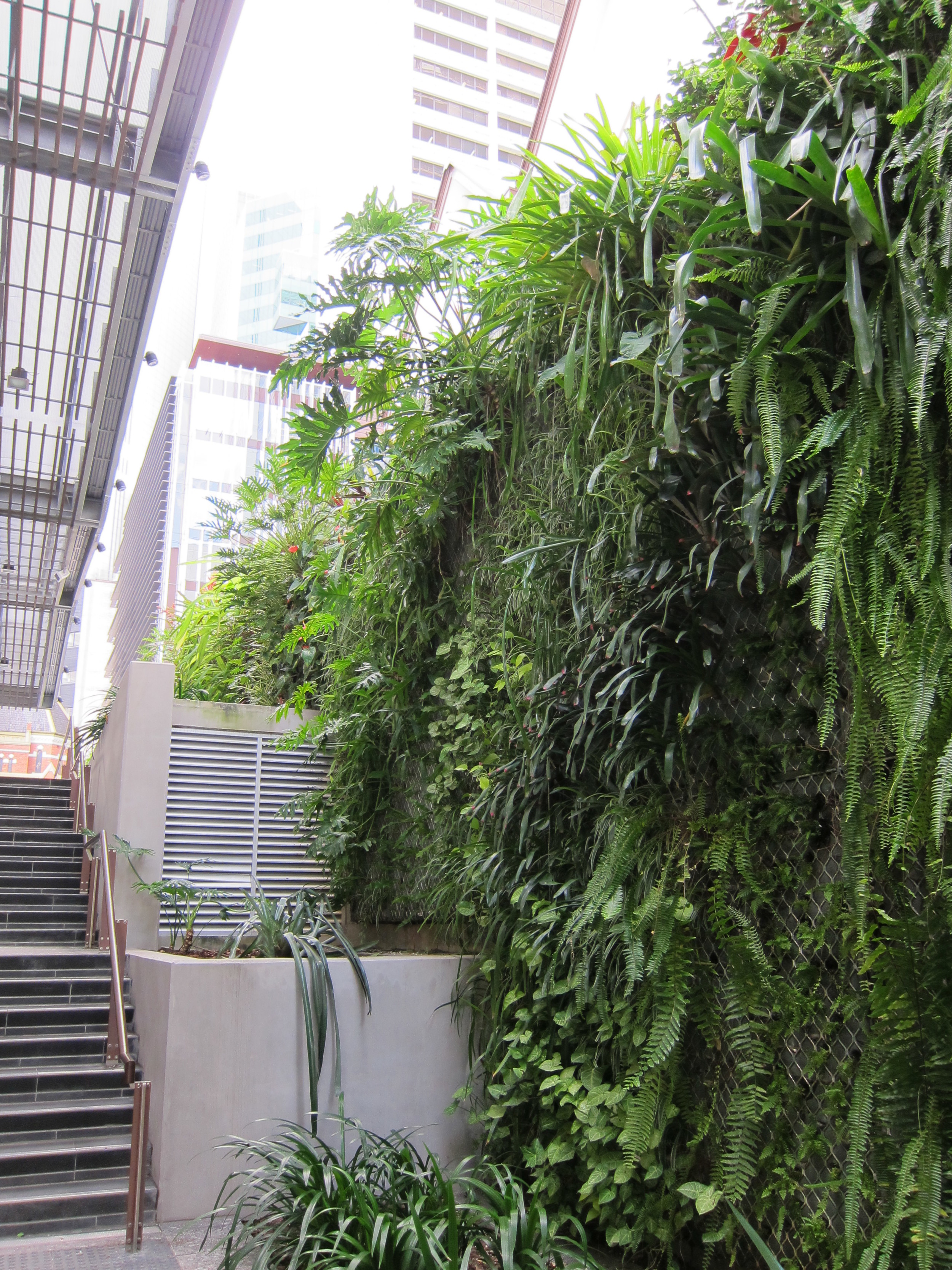 King George Square Green Wall