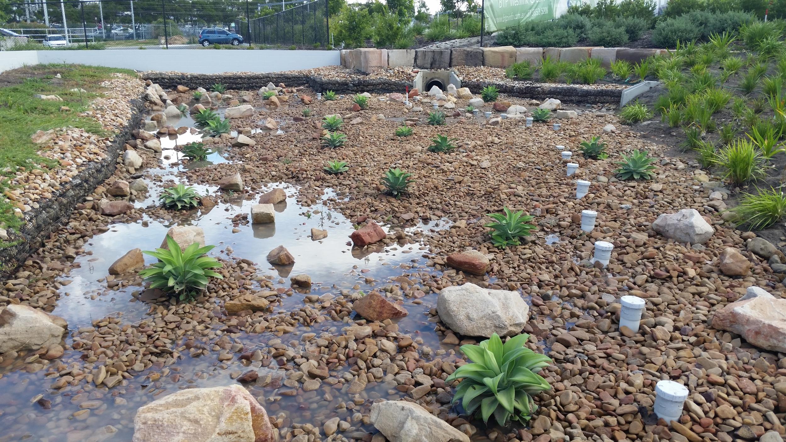 Westlink Court Bioretention System