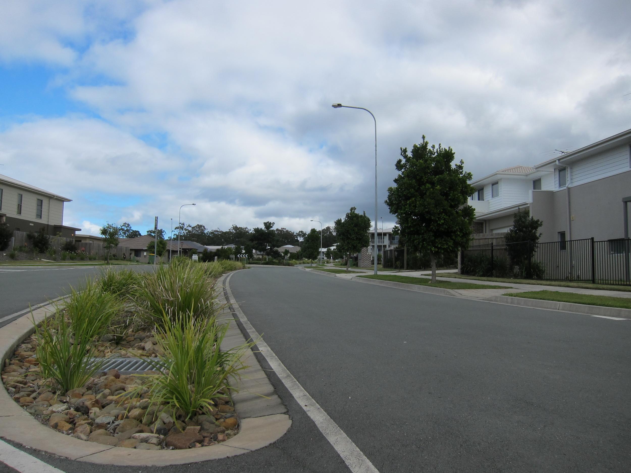 Attenborough Boulevard Bioretention System
