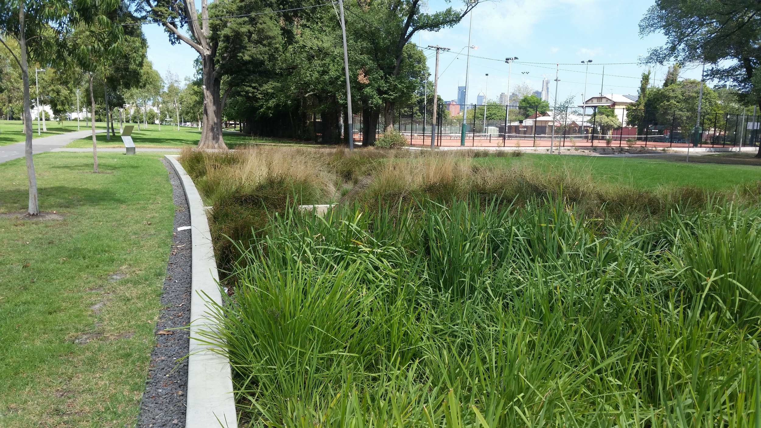 Edinburgh Gardens Bioretention System
