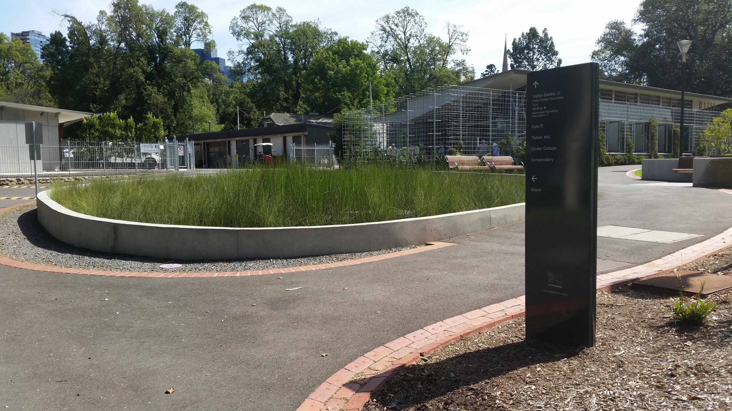 Fitzroy Gardens Stormwater Harvesting System