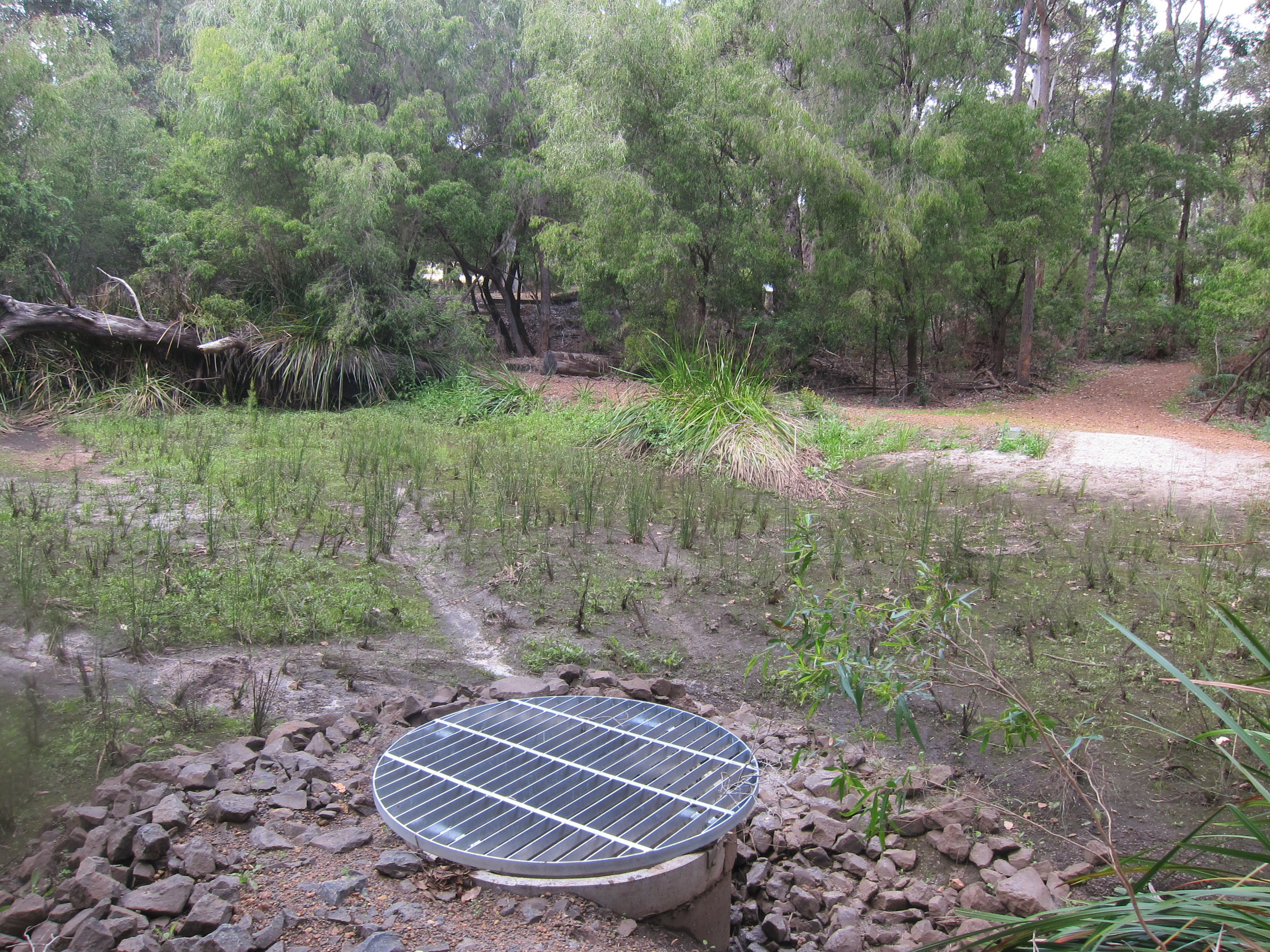 Margaret River Bioretention System