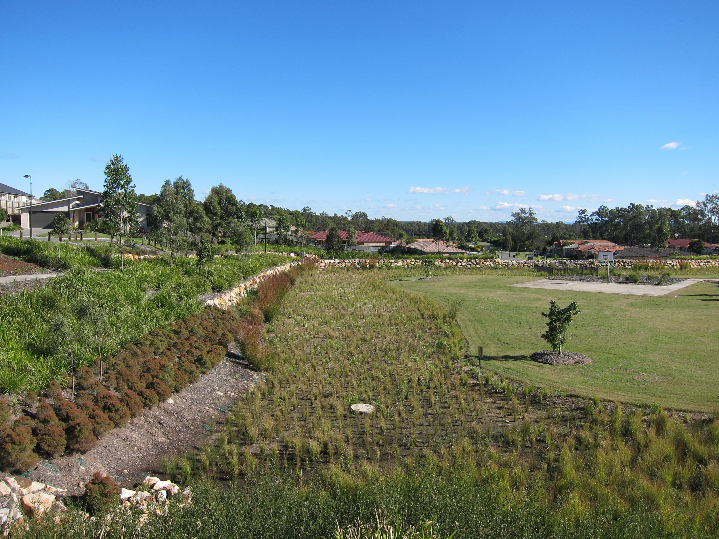Outlook Drive Bioretention System