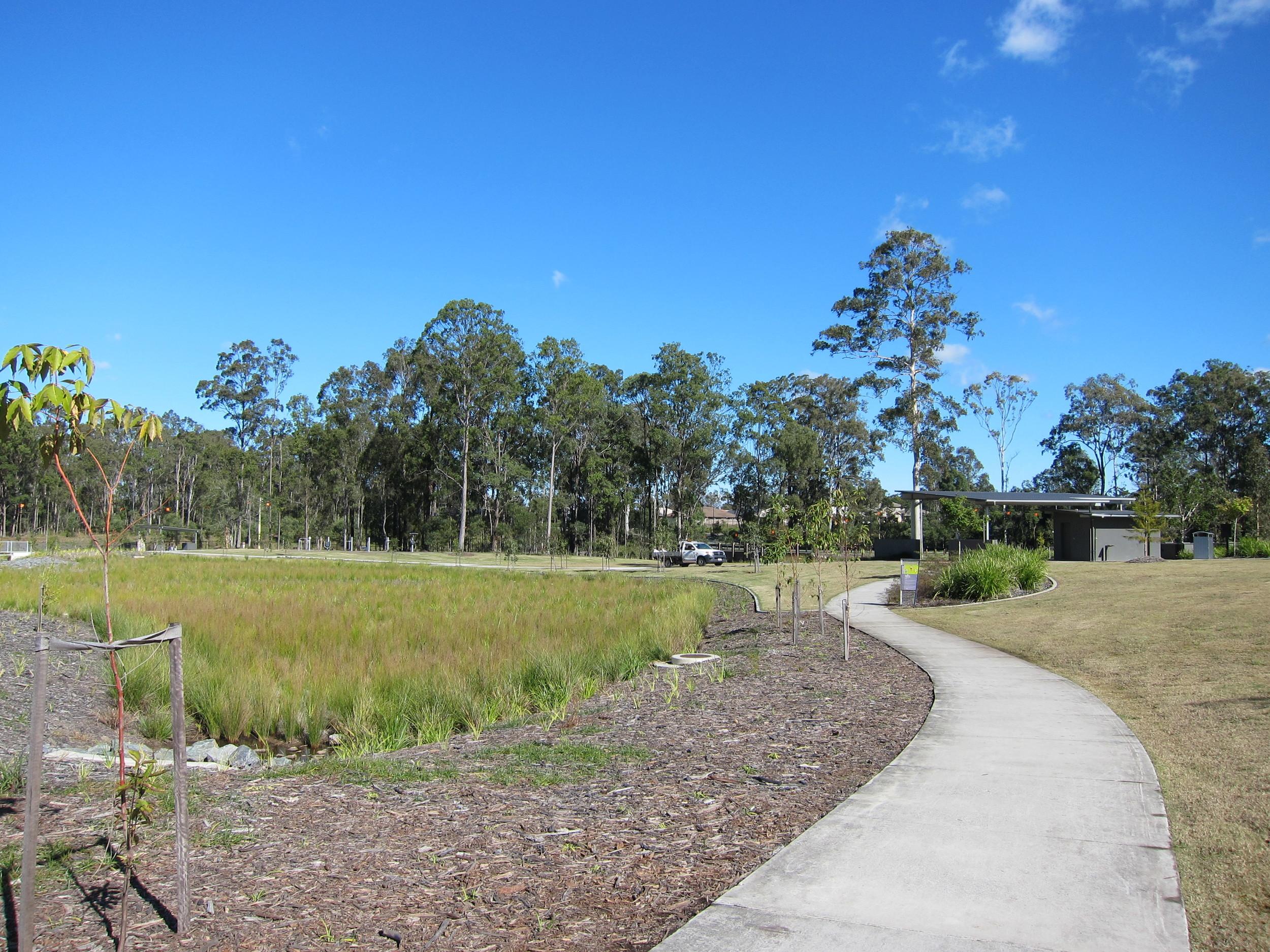 Grand Terrace Bioretention System