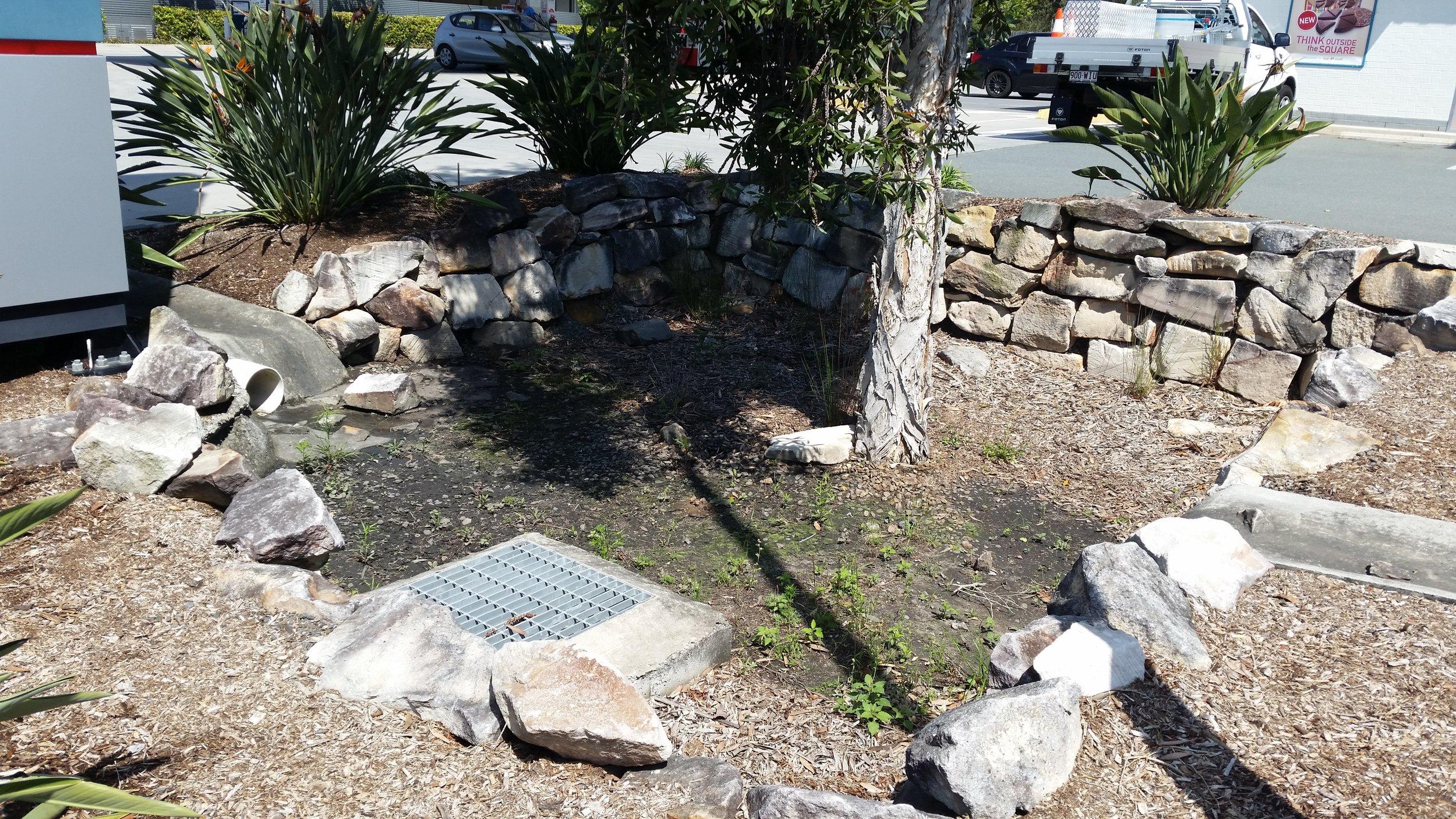 Augustine Heights Caltex Bioretention System 2