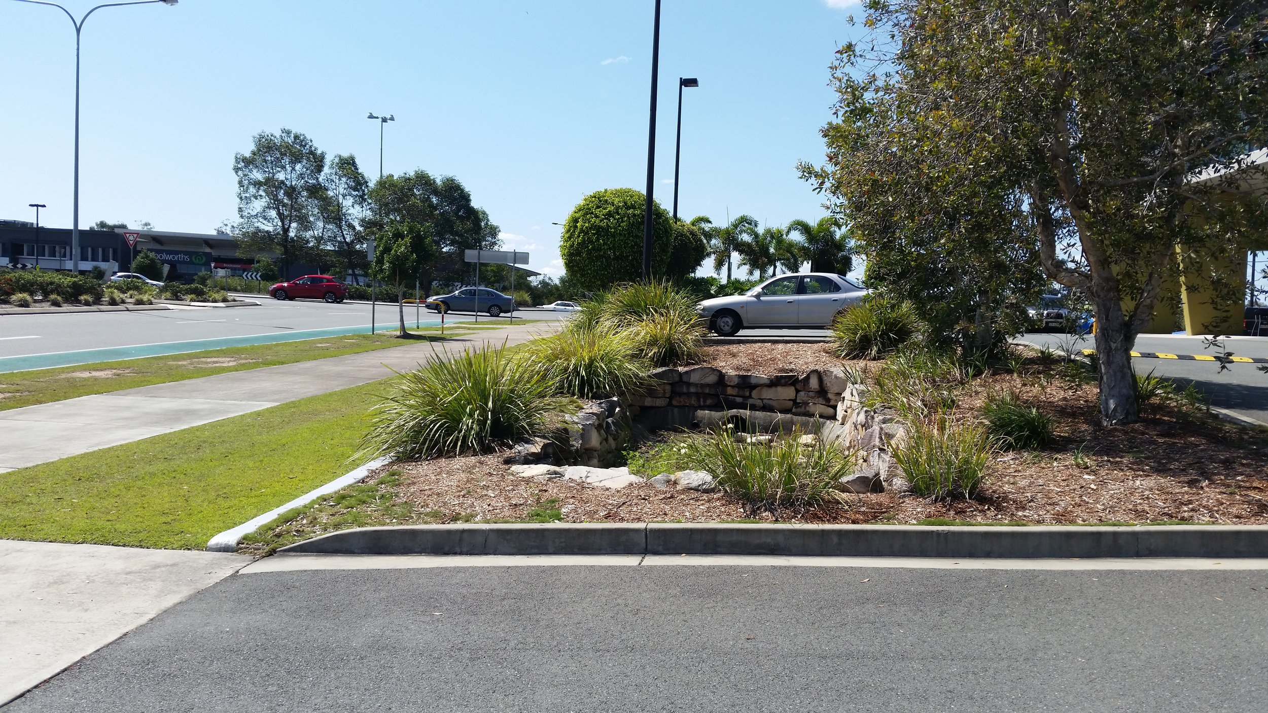 Augustine Heights Caltex Bioretention System 3