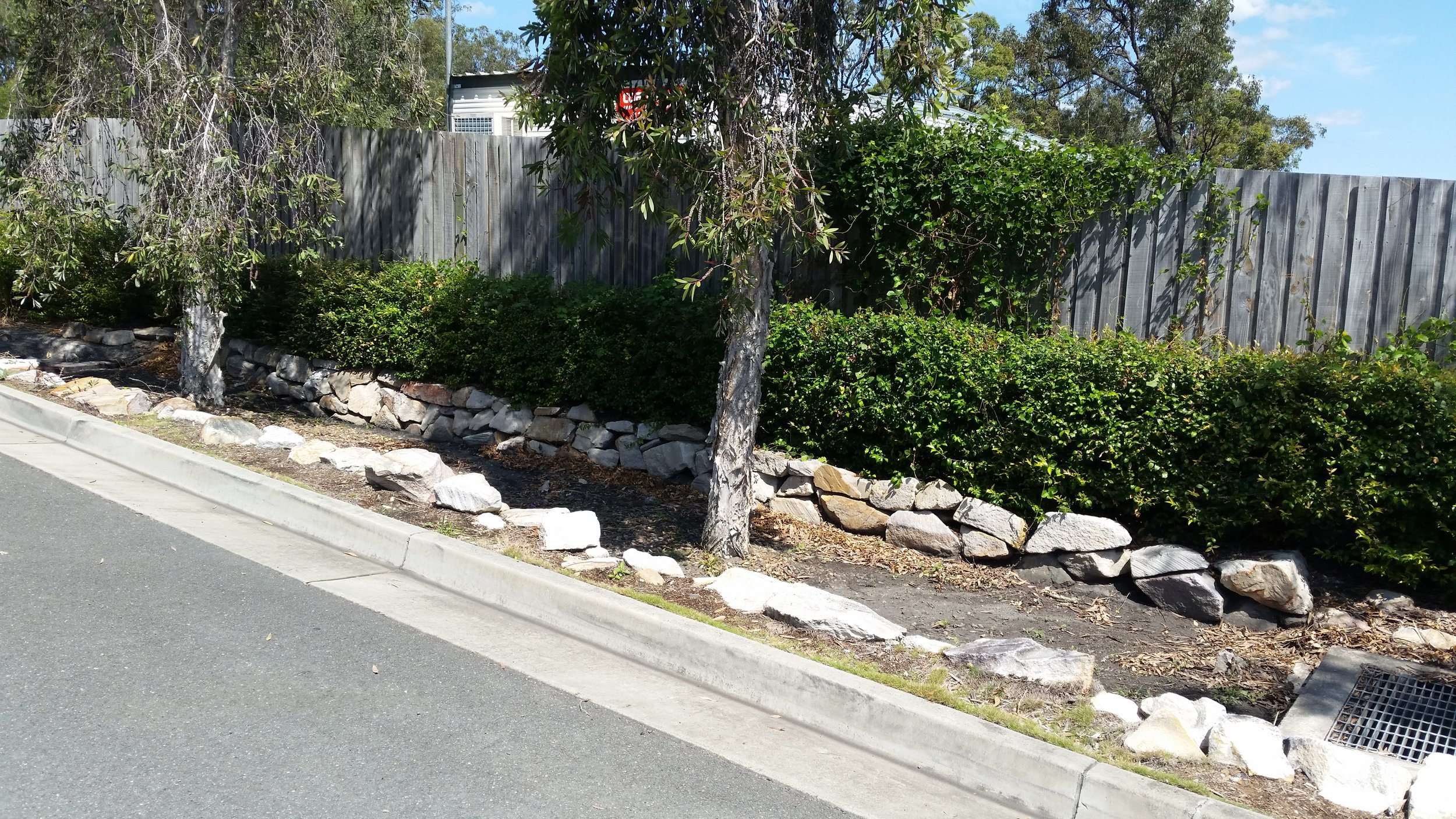 Augustine Heights Caltex Bioretention System 4
