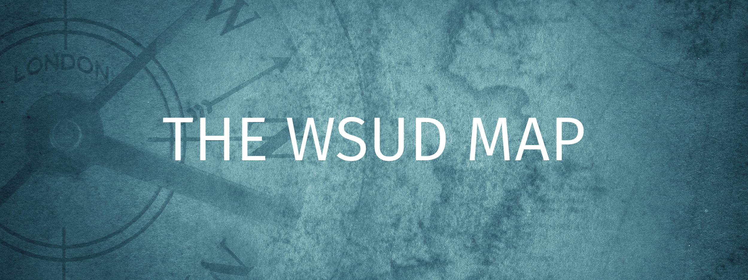 The WSUD Map
