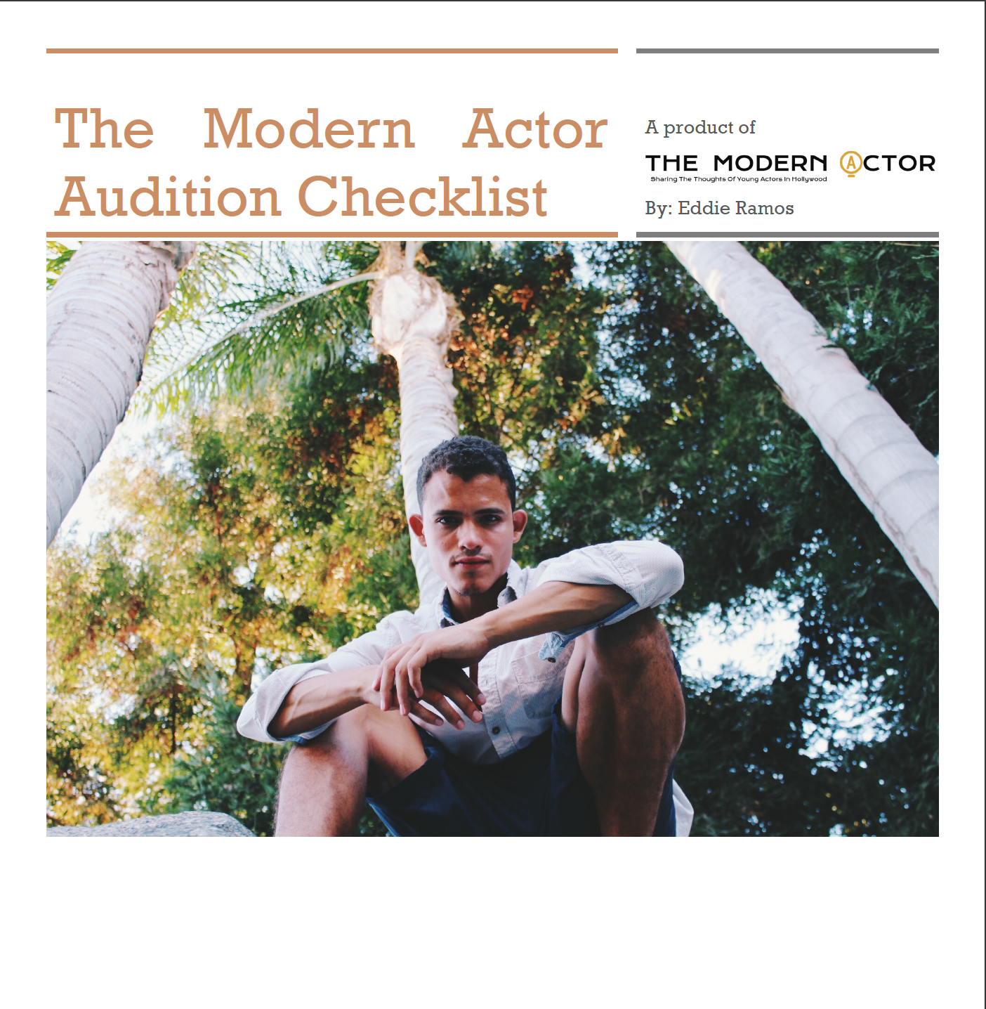 Please complete the form below for Your Modern Actor Audition E-Book - Coming Soon!