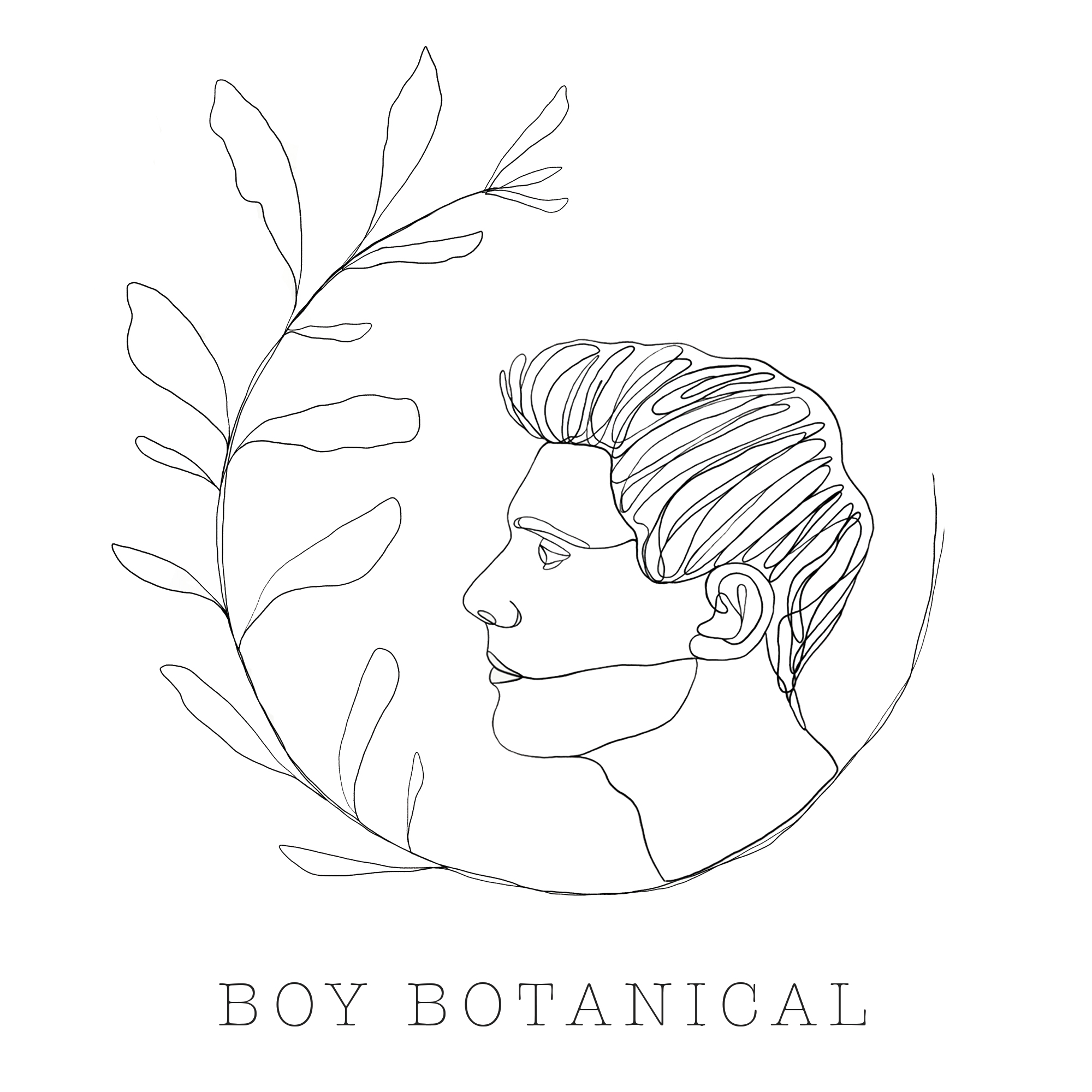 Boy Botanical Logo
