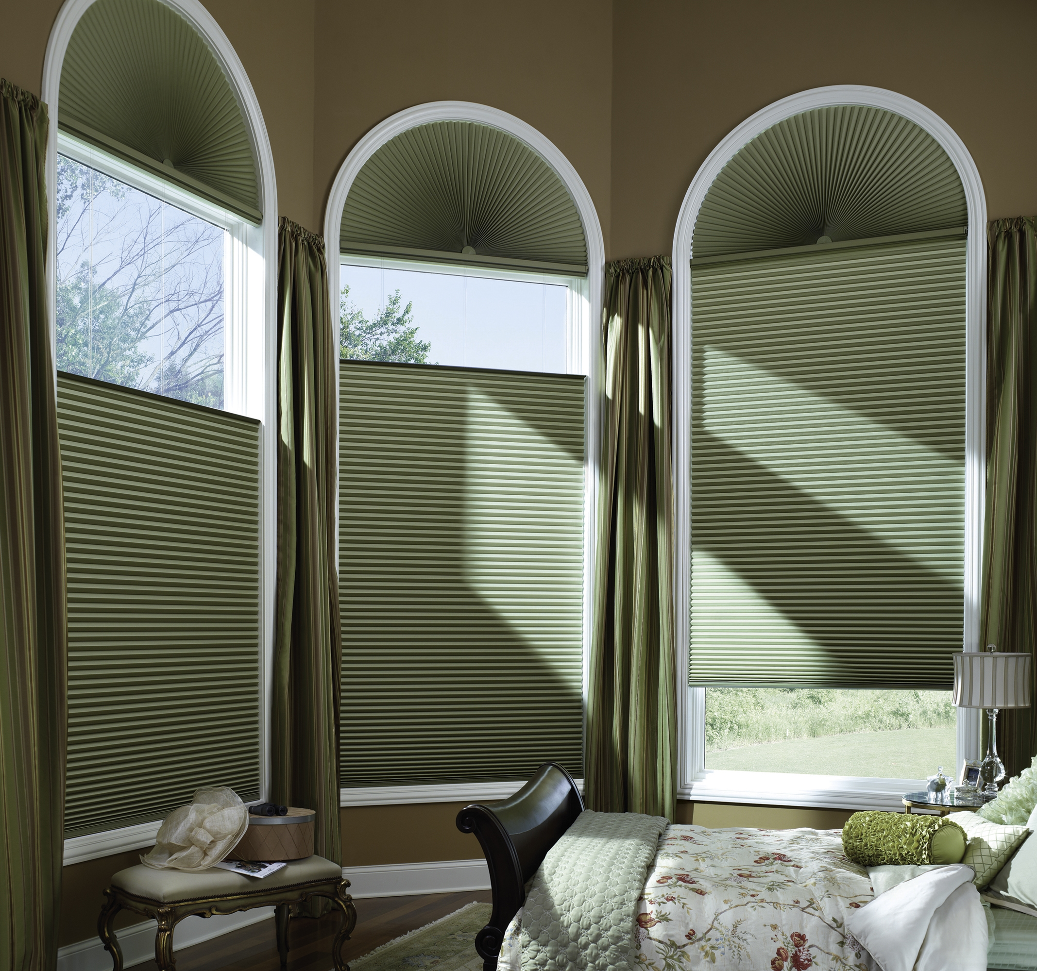 Hunter Douglas   Duette® Architella®   Honeycomb Shades   Learn More