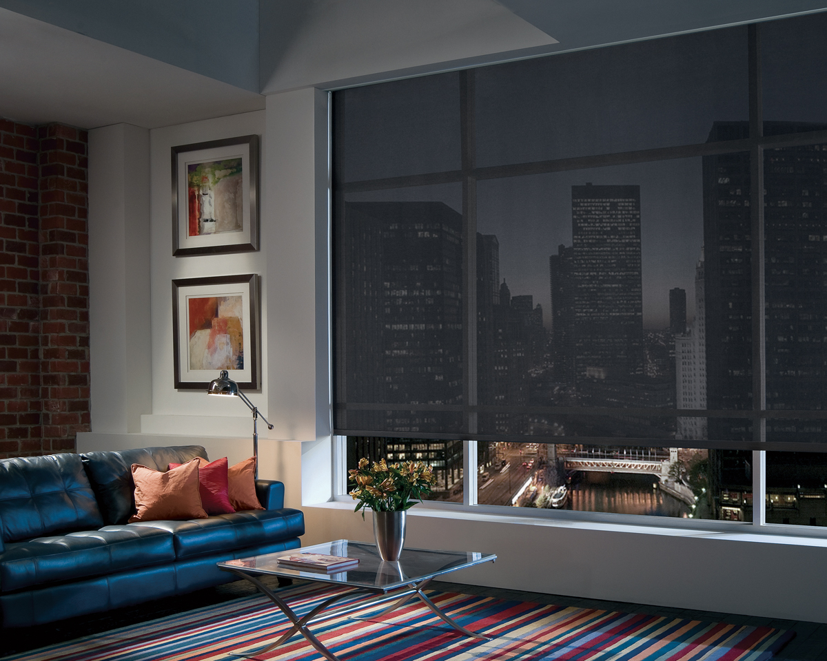 Roller Shades, Screen, and Cellular for Homes Near Carlsbad, California (CA) like Designer for City Apartments