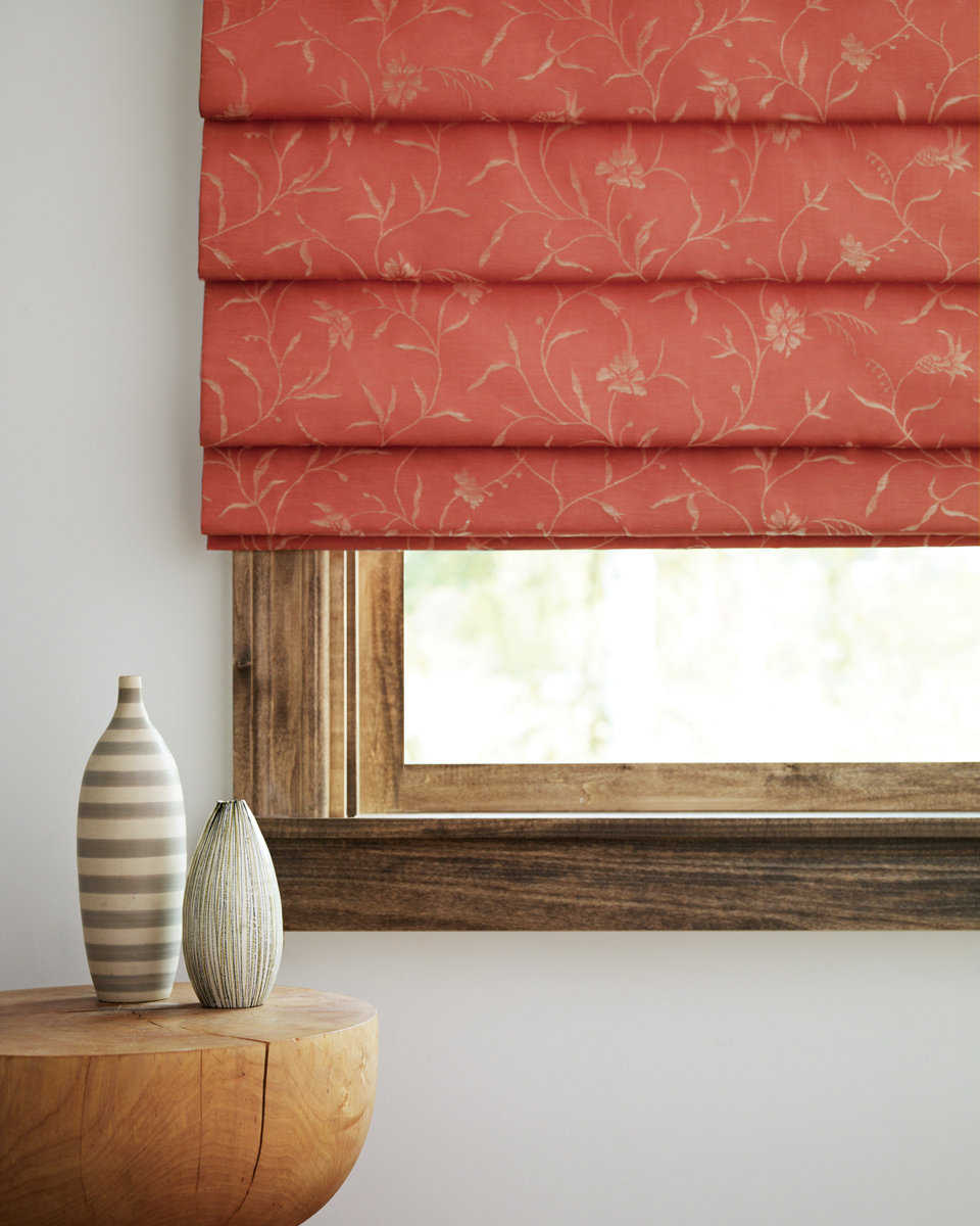 Roman Shades for Light-Filtering Home Windows Near Carlsbad, California (CA) like Design Studio with Customized Patterns