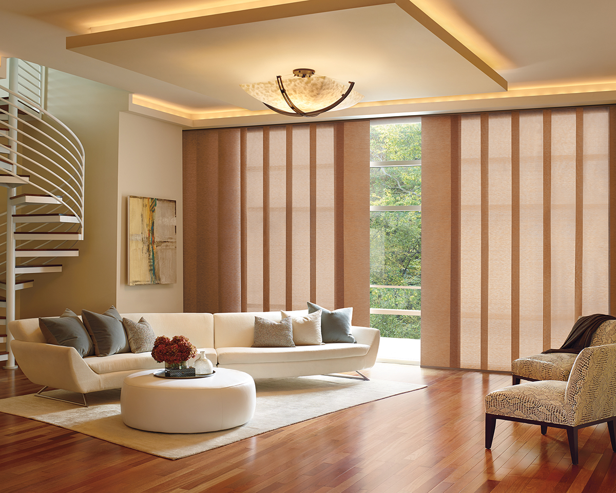 Roller Shades, Screen, and Cellular for Homes Near Carlsbad, California (CA) like Gliding Panels for Rooms