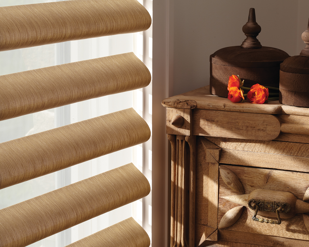 Alustra® Collection of Custom Shades for Windows Near Carlsbad, California (CA) like Pirouette in Fine Design