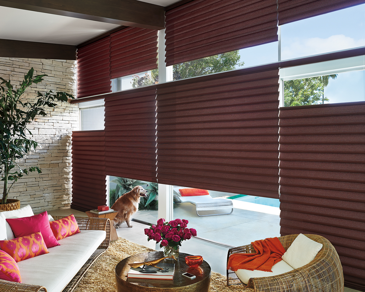 Alustra® Collection of Custom Shades for Windows Near Carlsbad, California (CA) like Roman in Living Rooms