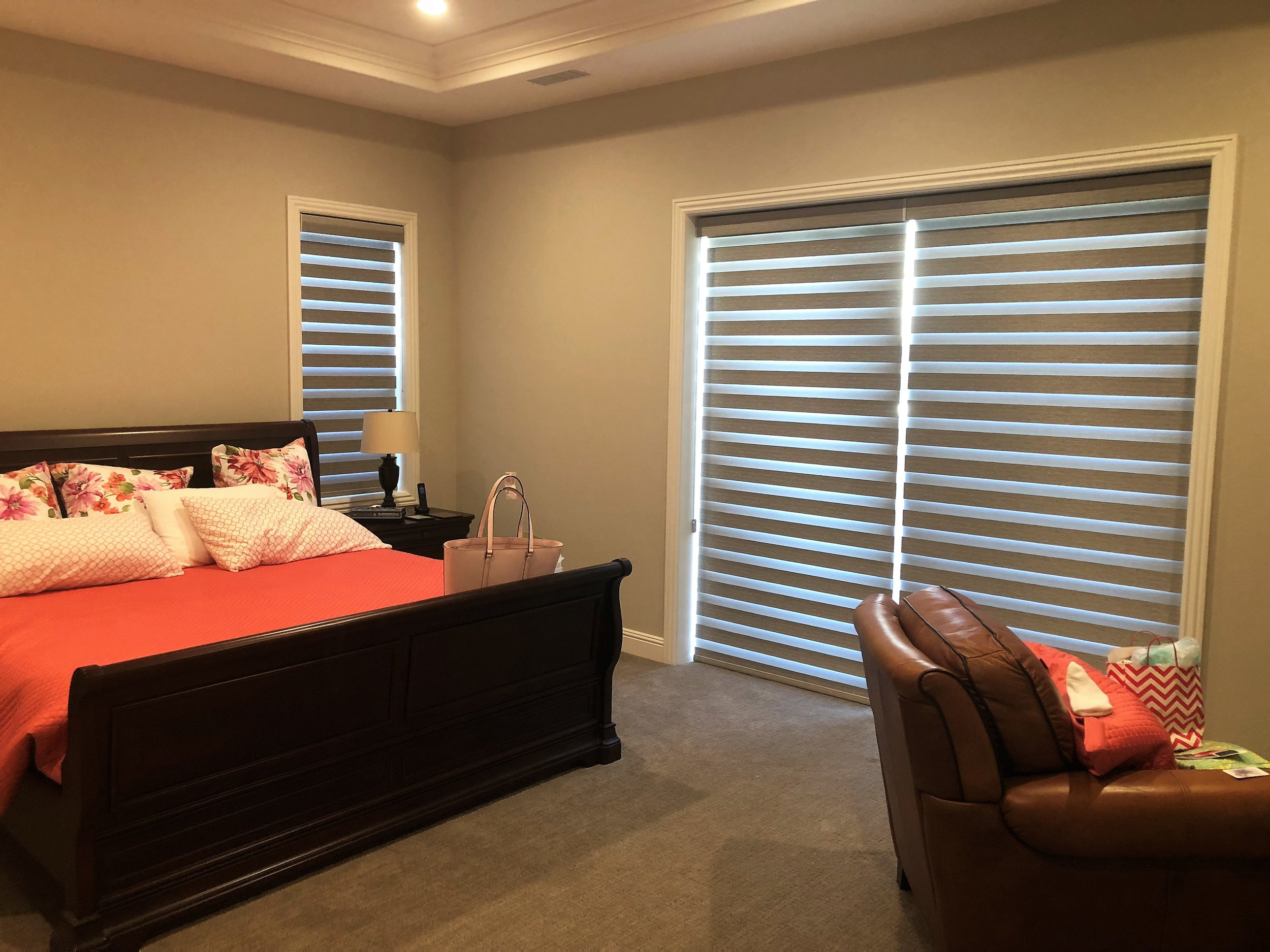 Gallery of Custom Blinds, Shutters and Shades in Carlsbad, California (CA) like Cellular in Bedrooms