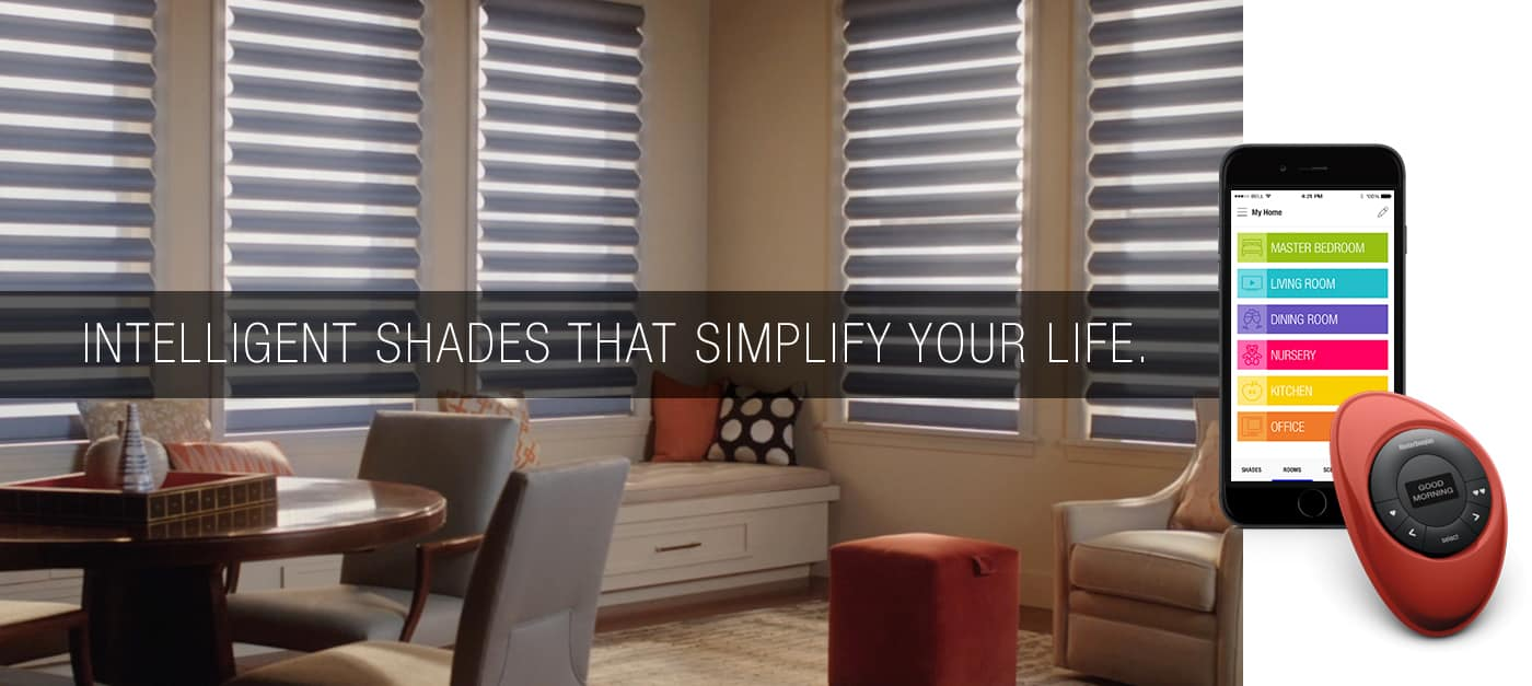 Window Covering Motorization  At Pacific Installers we can design, install and integrate your motorized window coverings to suit any home automation application.   Schedule an Appointment