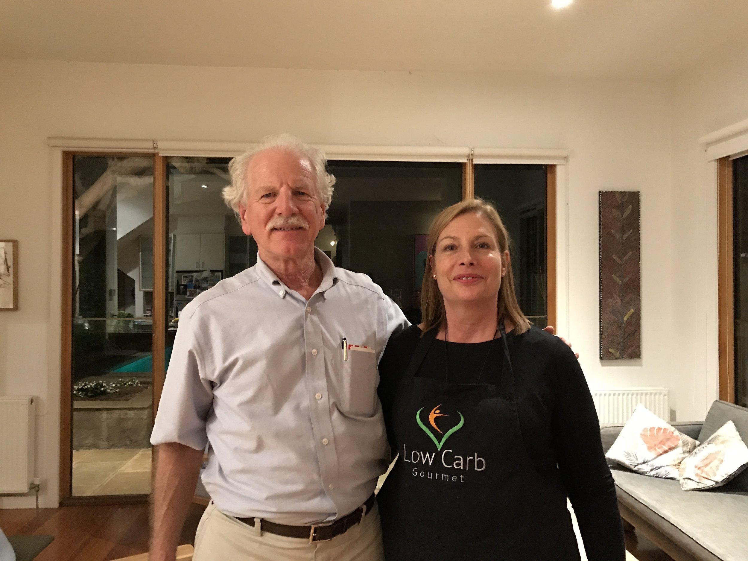 Dr Steve Phinney & Frances Dunwell, 2016