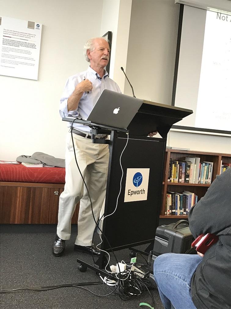 Dr Steve Phinney, 2016