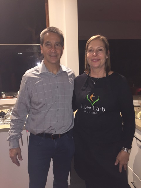 Frances Dunwell with Dr Jeffry Gerber - Denvers Diet Doctor