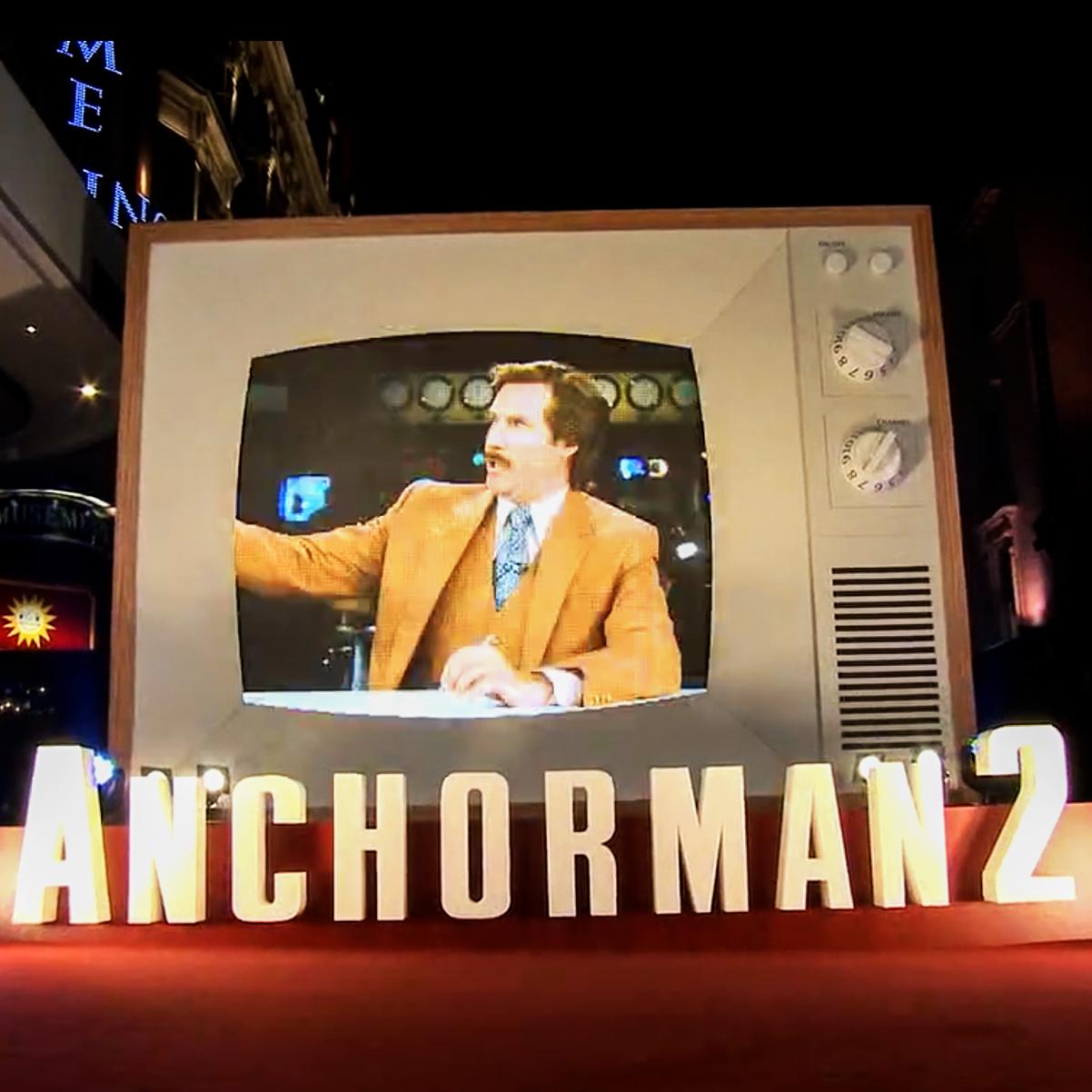 Anchorman 2 UK Film Premiere