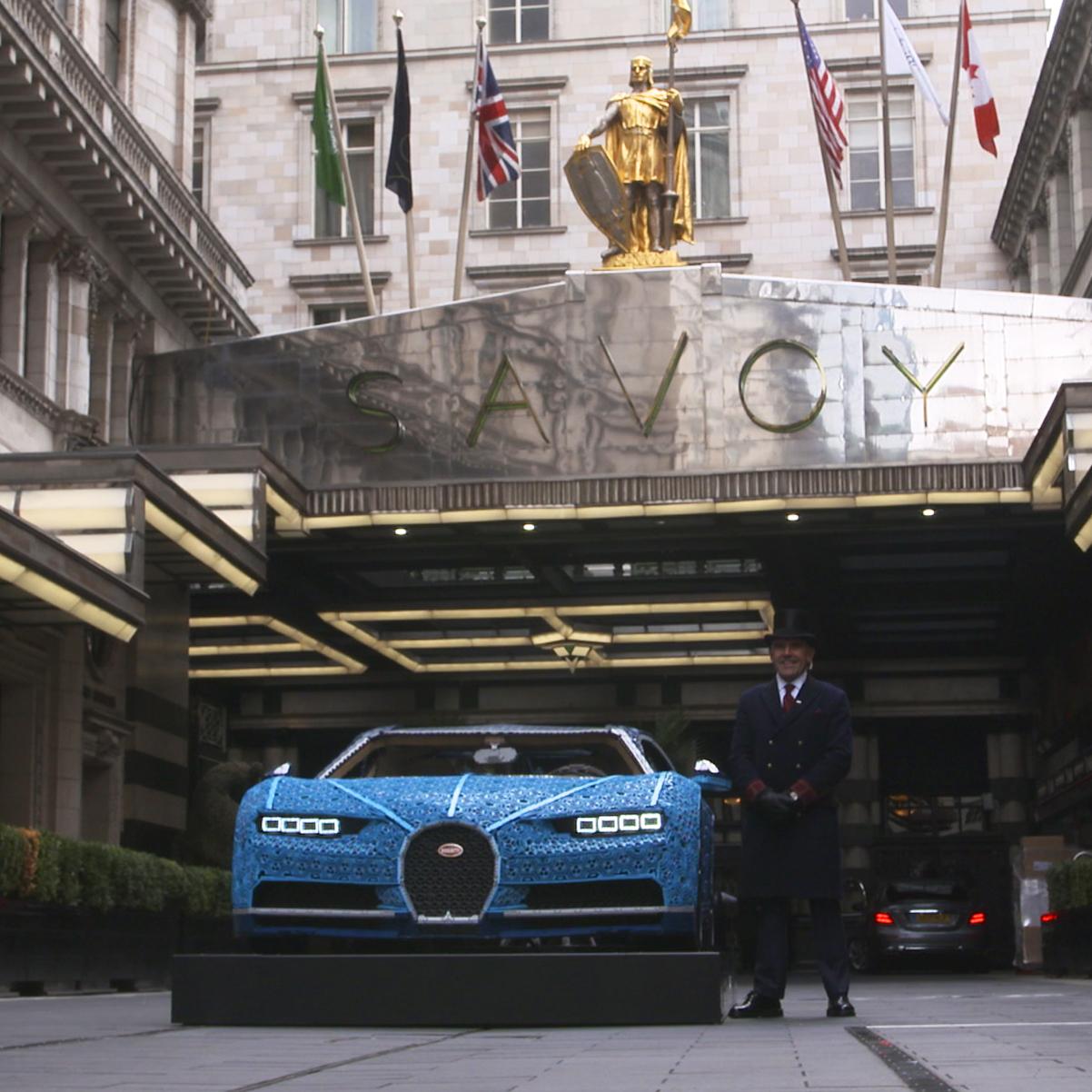 LEGO Technic Bugatti UK tour