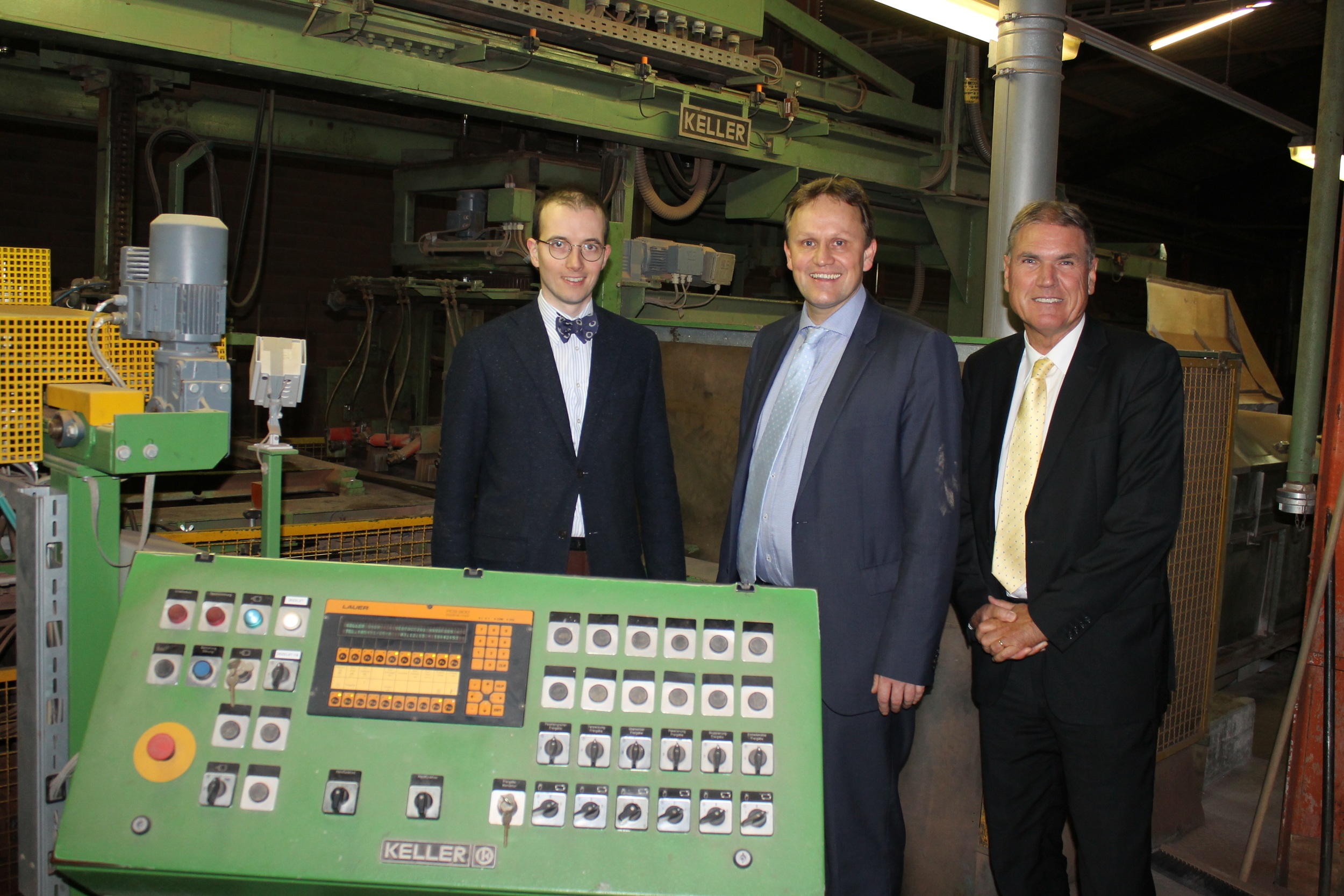 MEP Jens Gieseke visits the German facing brick company Olfry