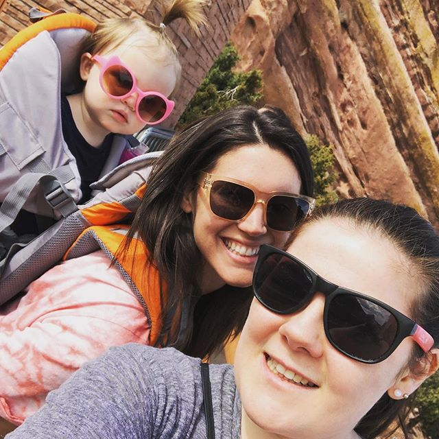 Missing my 2 favourite Denver girls ❤️👭 #denver #colorado #redrocksamphitheater