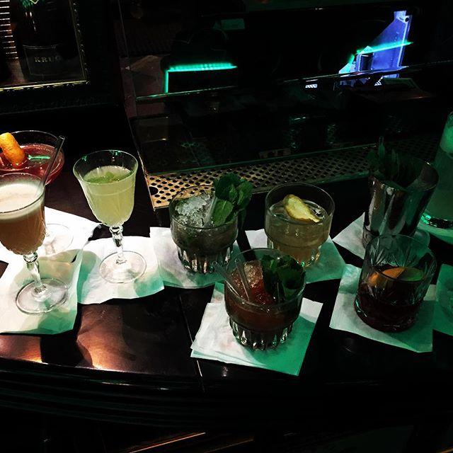 Drinkprövning med Kristoffer och Nick. Snart öppnar Fou och vi kommer självklart ha en ny fantastisk cocktailmeny. #Fou #Barcosette