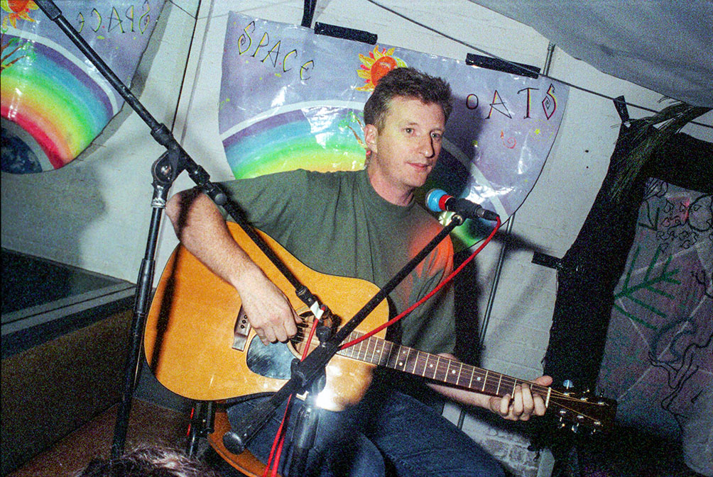 Billy Bragg Velvet Revolution Tour Hacienda 6 Oct 94