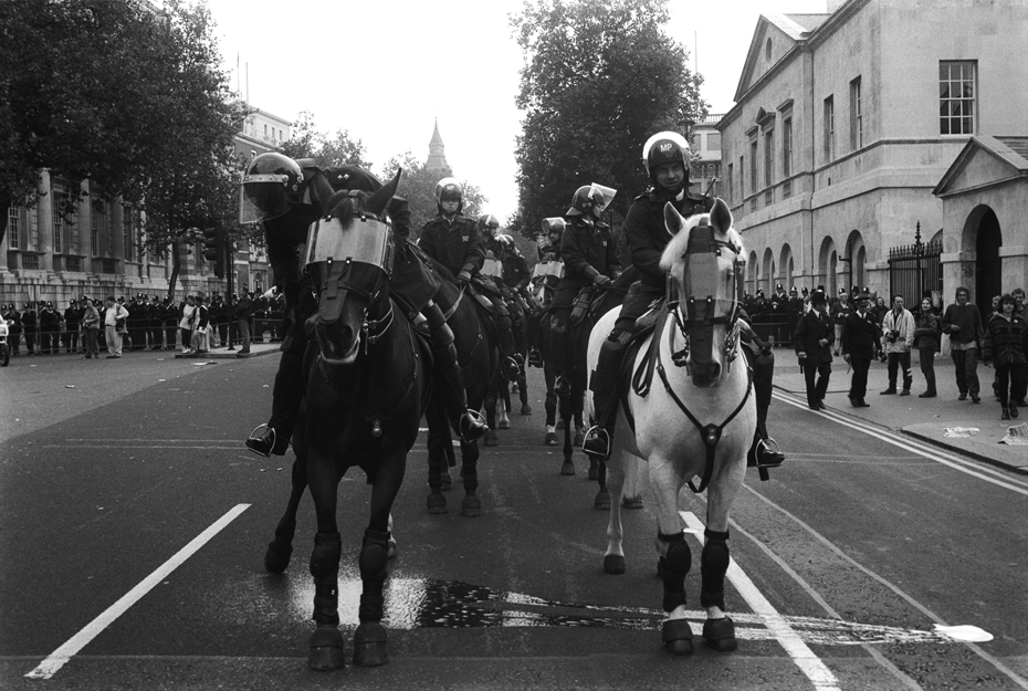 3rd Anti CJA March London 9 Oct 94 725