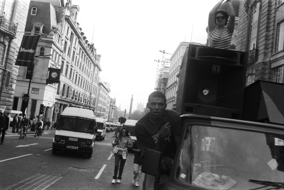 3rd Anti CJA March London 9 Oct 94