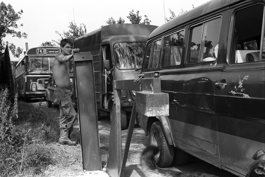 Gate Two Glastonbury Festival 1989