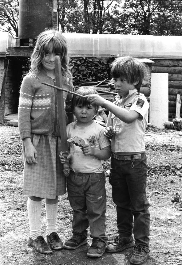 The Three Musketeers Glastonbury Festival 1989