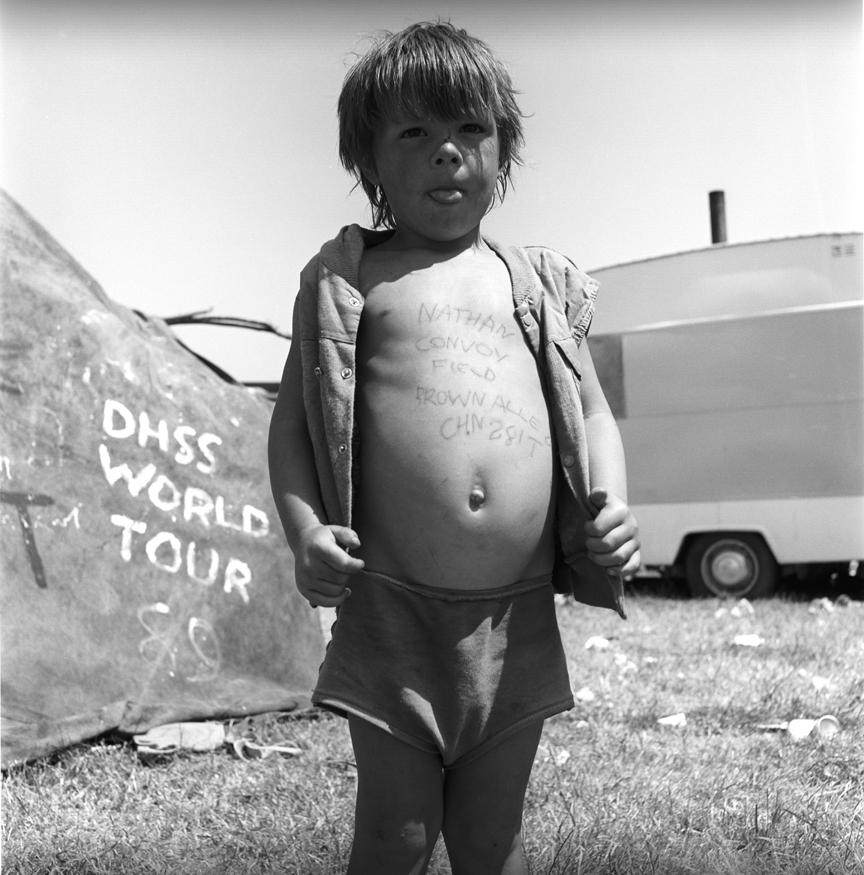 Nathan Convoy Field Glastonbury 1989