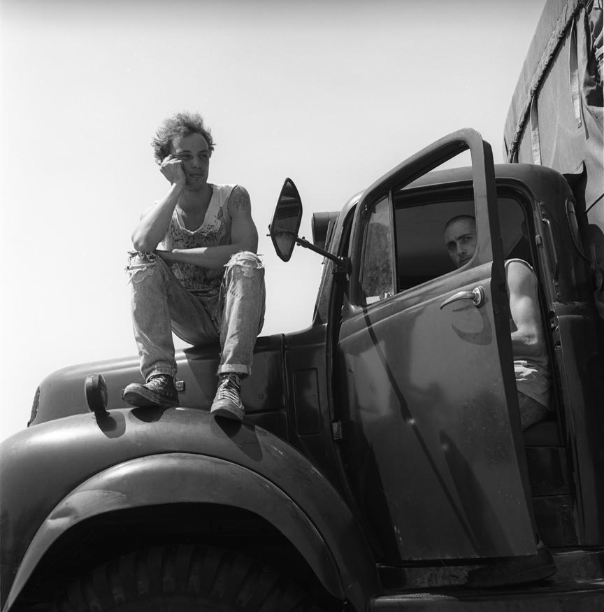 Convoy Field Glastonbury Festival 1989