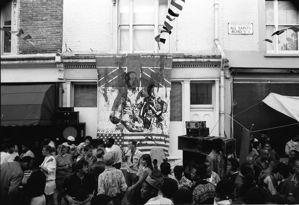All Saints Road Notting Hill Carnival 1989