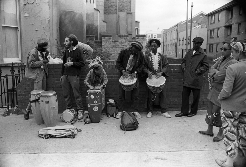Drummers Notting Hill Carnival 1989