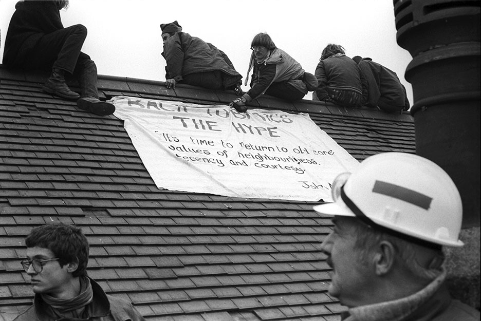 Wanstonia Eviction No 11 Link Protest 6 Feb 94
