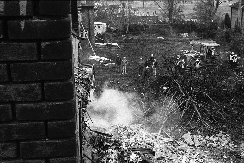 Wanstonia Eviction No M11 Link Protest 16 Feb 94