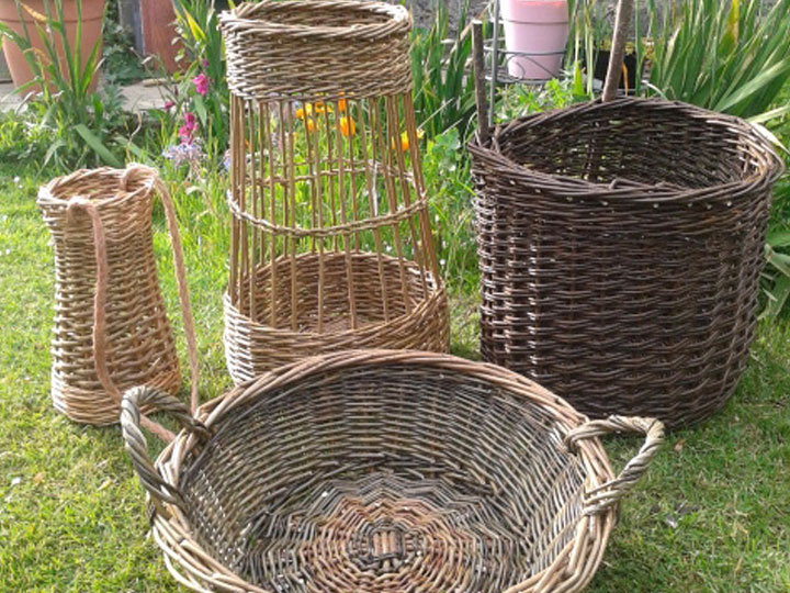 Medieval Re-enactors Baskets